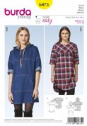 6475  Burda Pattern: Burda Young Dresses